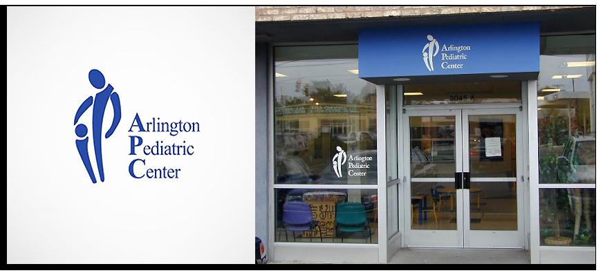 exemple-logo-design-raté-arlington-pediatric-center